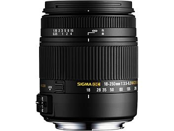 Sigma 18-250mm F3.5-6.3 DC Macro HSM Lens - Sony Mount