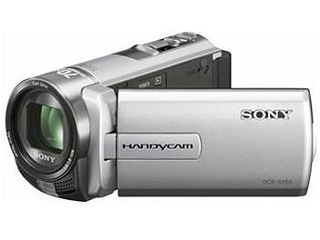 Sony DCR-SX65E Flash Memory Camcorder PAL - Silver