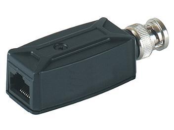 Globalmediapro SHE TTP111V 1-Channel BNC Male to RJ-45 Female Video Transceiver (pack 10 pcs)