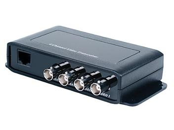 Globalmediapro SHE TTP414VH 4-Channel Video Transceiver with Extra Interference Rejection
