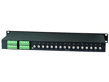 Globalmediapro SHE TPP016 16-Port Passive Video Transceiver Hub