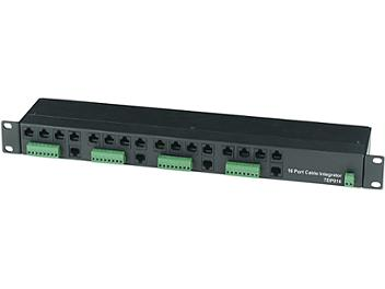 Globalmediapro SHE TDP016 16-Port Cable Integrator