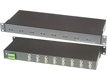 Globalmediapro SHE TPA008H 8-Port Active Receiver Distribution Amplifier