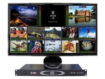 OptimumVision IRIS CCCC 16-channel SDI / Composite Multiviewer