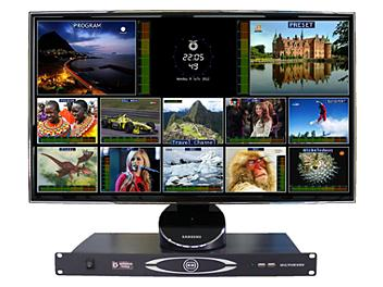 OptimumVision IRIS AAB0 8-channel SDI & 4-channel Composite Multiviewer