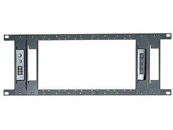 Globalmediapro SHE TPN012-C 19-inch Universal Rack Mounting Panel with 4 Pieces Holder