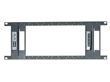 Globalmediapro SHE TPN012-T 19-inch Universal Rack Mounting Panel With 4 Pieces Holder