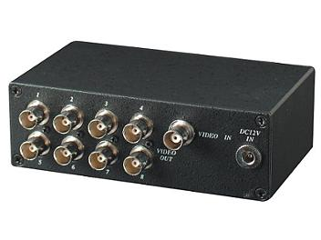 Globalmediapro SHE CD108 1x8 Video Distributor / Amplifier