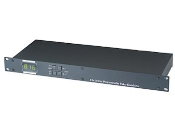 Globalmediapro SHE CD816P Programmable 8x16 Video Distributor