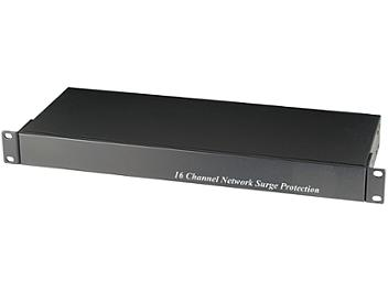 Globalmediapro SHE SP016N 16-Channel Network Surge Protector for NVR