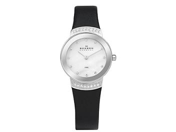 Skagen 812SSLB1 Silver Stainless Steel Ladies Watch