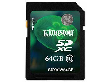 Kingston 64GB Class-10 SDXC Memory Card (pack 2 pcs)