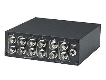 Globalmediapro SHE CD408 4x8 Video Distributor / Amplifier