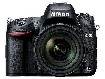 Nikon D600 DSLR Camera Kit with Nikon 24-85mm F3.5-4.5G ED VR Lens