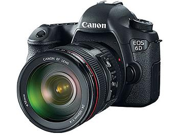 Canon EOS-6D Digital SLR Camera Kit with Canon EF 24-105mm F4L IS USM Lens