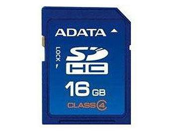 A-DATA 16GB Class-4 SDHC Card (pack 2 pcs)
