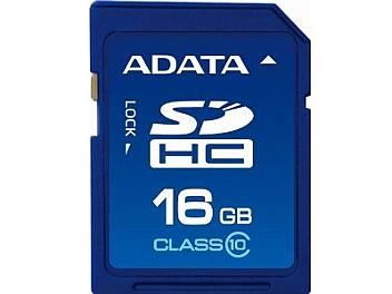 A-DATA 16GB Class-10 SDHC Card (pack 2 pcs)