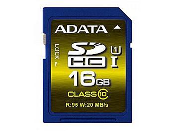 A-DATA 16GB Premier Pro UHS-I U1 Class-10 SDHC Card (pack 2 pcs)