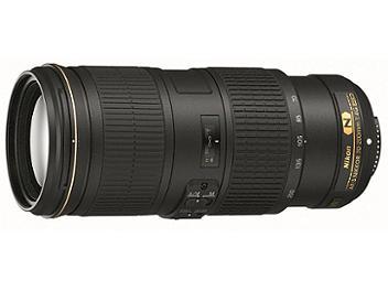 Nikon 70-200mm F4G ED VR AF-S Telephoto Zoom Lens