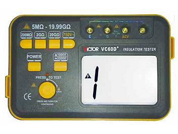 Victor VC60D+ Digital Insulation Tester