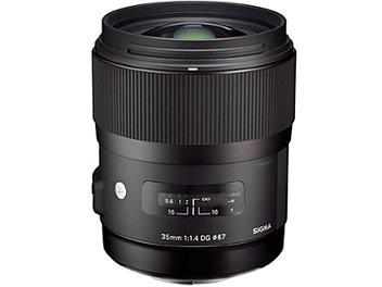 Sigma 35mm F1.4 DG HSM Lens - Canon Mount
