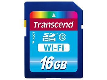 Transcend 16GB Class-10 Wi-Fi SDHC Memory Card
