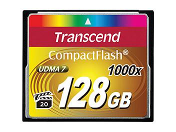 Transcend 128GB 1000x CompactFlash Memory Card (pack 2 pcs)