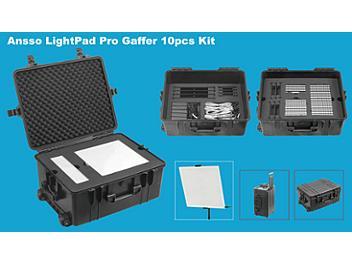 Ansso LightPad PG-5D2 Pro Gaffer 10pcs Kit