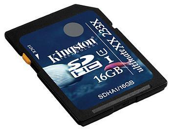 Kingston 16GB UltimateXX UHS-I SDHC Memory Card (SDHA1/16GB)