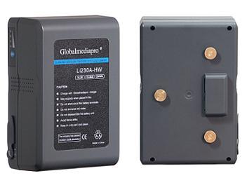 Globalmediapro Li230A-HW Gold Mount Li-ion Battery 230Wh
