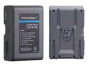 Globalmediapro Li160S-HW-R V-Mount Li-ion Battery 160Wh for Red Camera