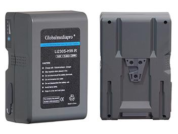 Globalmediapro Li230S-HW-R Lithium ion Battery 230WH for Red Camera