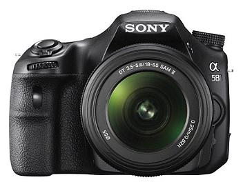 Sony Alpha SLT-A58 DSLR Camera with DT 18-55mm F3.5-5.6 SAM II Lens