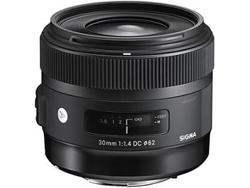 Sigma 30mm F1.4 DC HSM Lens - Nikon Mount