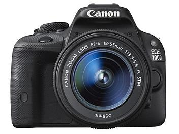 Canon EOS-100D Digital SLR Camera Kit with Canon EF-S 18-55mm IS STM Lens