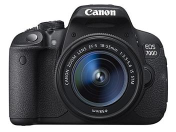 Canon EOS-700D DSLR Camera Kit with EF-S 18-55mm IS STM Lens