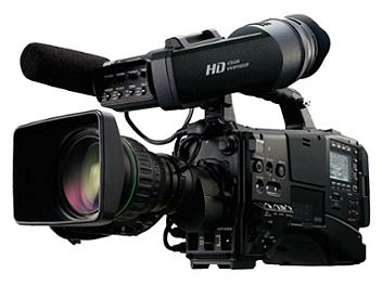 Panasonic AG-HPX600 P2 HD Camcorder with AG-CVF10 Viewfinder and 16x Lens