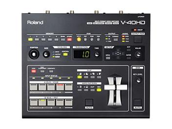Edirol V-40HD Multi-format Video Switcher