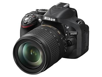 Nikon D5200 DSLR Camera with Nikon 18-105mm Lens