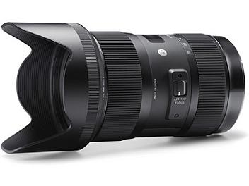 Sigma 18-35mm F1.8 DC HSM Lens - Sigma Mount