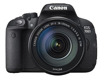 Canon EOS-700D Digital SLR Camera Kit with Canon EF-S 18-135mm IS STM Lens