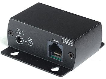 Globalmediapro SHE UE03 USB 2.0 Fast CAT5 Extender with 4-Port USB Hub