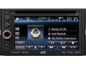 JVC KW-AV60BT 6.1-inch WVGA Monitor with DVD/CD/USB Receiver