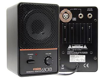 Fostex 6301BX Powered Studio Monitor Speakers - Pair