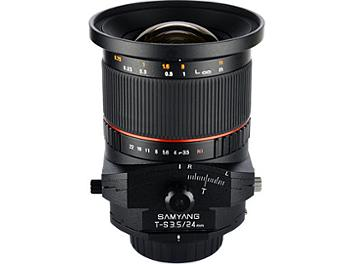 Samyang 24mm F3.5 ED AS UMC Tilt-Shift Lens - Nikon Mount