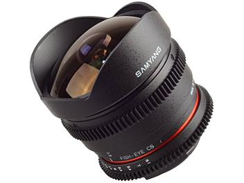 Samyang 8mm T3.8 IF MC Fisheye Lens - Sony Mount
