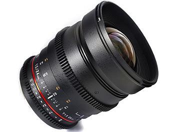 Samyang 24mm T1.5 VDSLR Lens - Canon Mount
