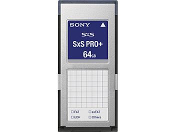 Sony SBP-64B 64GB SxS Pro+ Memory Card (pack 2 pcs)