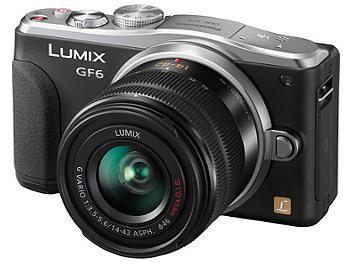 Panasonic Lumix DMC-GF6 Camera Kit with 14-42mm F3.5-5.6 II Lens