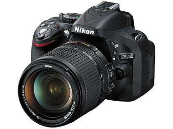 Nikon D5200 DSLR Camera with Nikon 18-140mm VR DX Lens